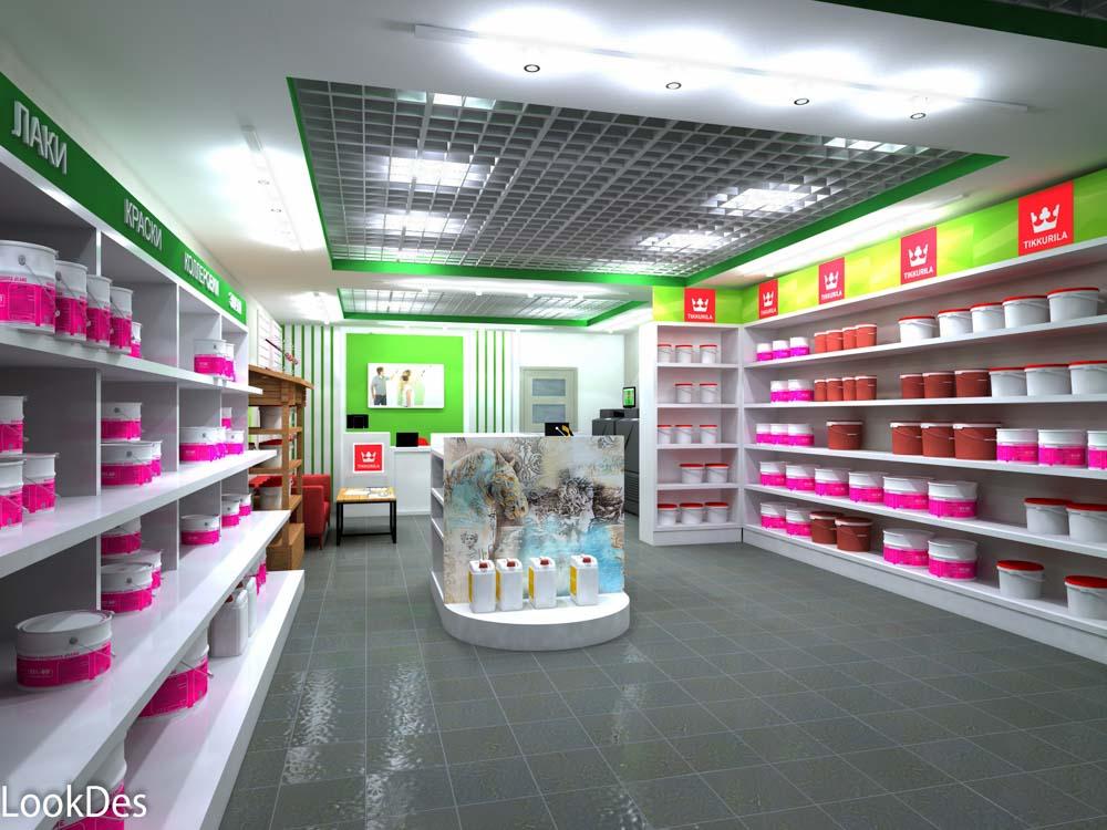 Color Studio Тиккурила, магазин