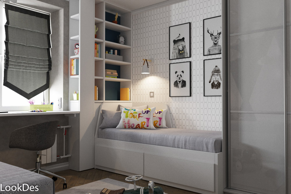 Квартира для молодой семьи с 2 детьми, ул. Псковская