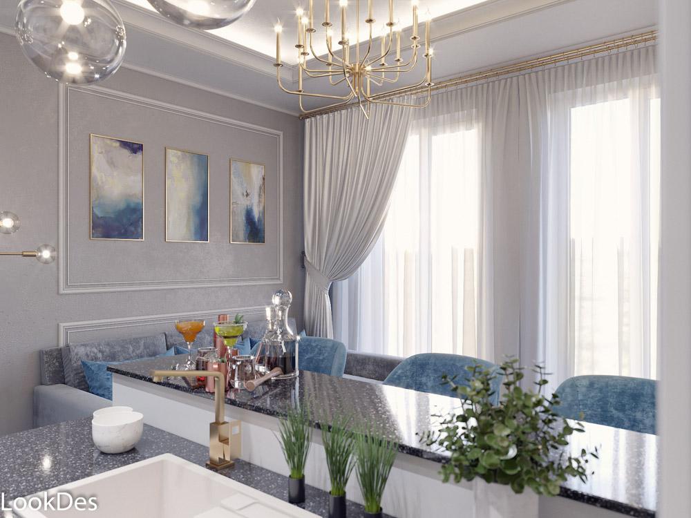 Таун-Хаус Невского, 1 этаж