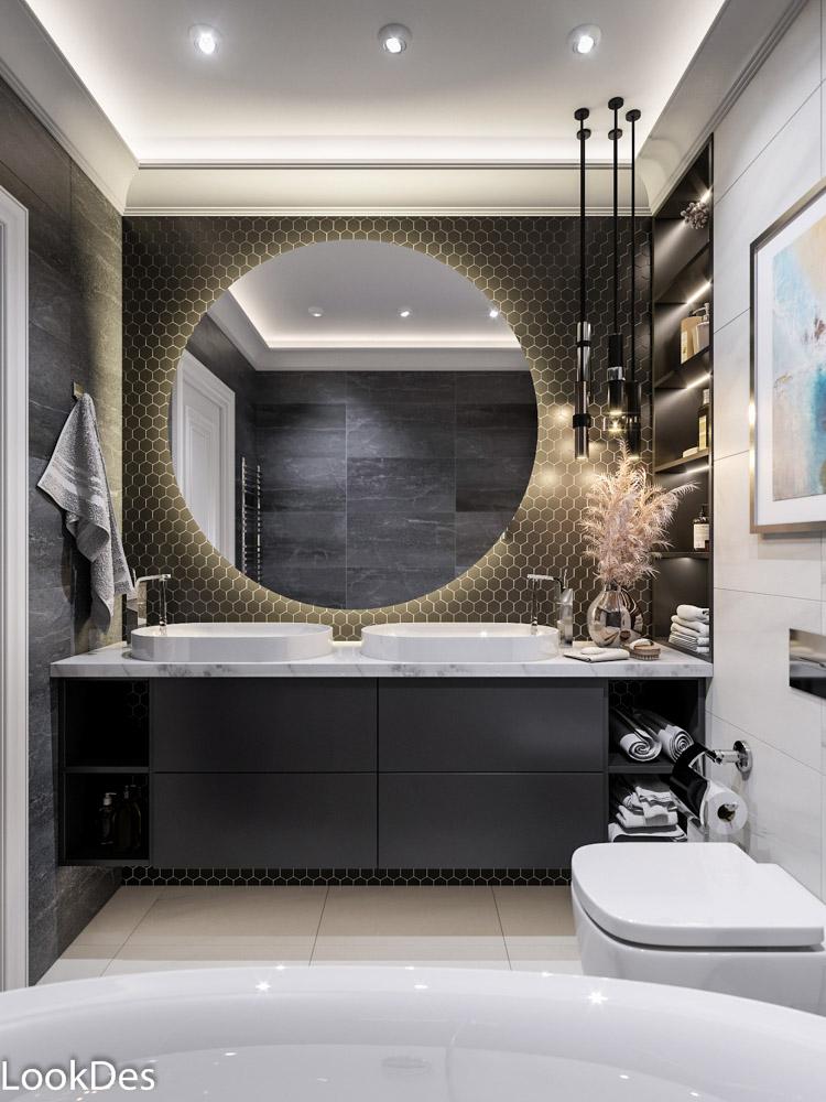 Проект ванны и санузла в частном доме